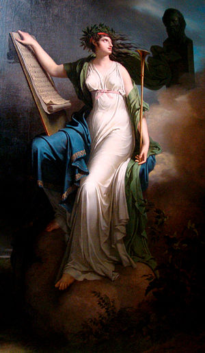 Calliope, Muse of Epic Poetry - Charles Meynier.jpg