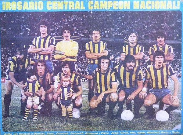 Resultado de imagen para rosario central campeon 1980