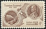 Canal Zone,100 Anniversary Roosevelt, 4c, 1958 Issue.jpg