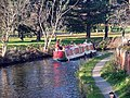 Canal boat on the Chesterfield Canal - geograph.org.uk - 89550.jpg
