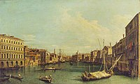 Canaletto (1697-1768) (after) - Venice, the Grand Canal from the Palazzo Foscari to the Carità - P492 - The Wallace Collection.jpg