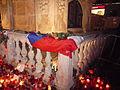 Candles, Václav Havel death, Náměstí Svobody, Brno (4).jpg