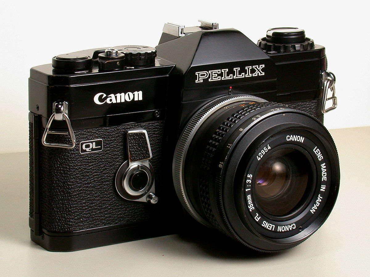 Canon pellix wikipedia for Camera camera