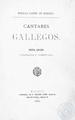 Cantares gallegos 1872 nueva edición corregida y aumentada Rosalía Castro de Murguía.pdf