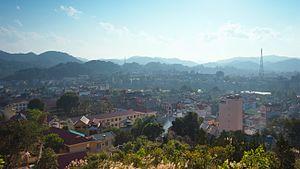 Cao Bằng - Image: Cao Bằng skyline