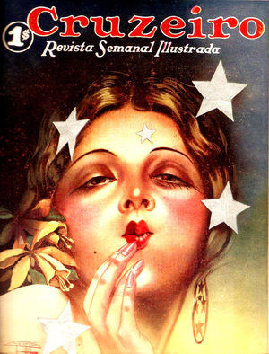 O Cruzeiro - Cover of O Cruzeiros first issue (1928)