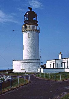 Cape Wrath Lighthouse lighthouse located at the most North-Westerly point of the British mainland, in Sutherland, Scotland