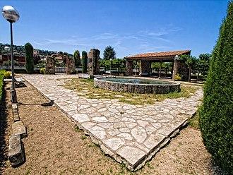Capellades - Capelló gardens