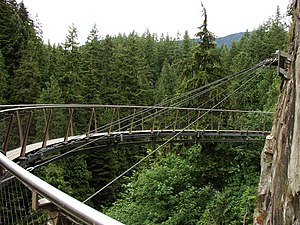 Capilano Suspension Bridge - Cliff Walk