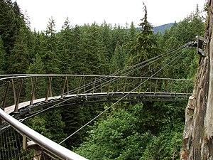 Capilano Suspension Bridge - Cliff Walk