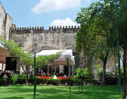 Capilla abierta of the current Cathedral of Cuernavaca CapillaAbiertaCatCV.JPG