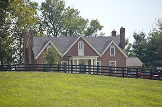 National Register of Historic Places listings in Clark County, Kentucky - Image: Capt. Robert V. Bush House