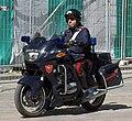 Carabiniere in moto a Bologna (crop, April 2006).jpg