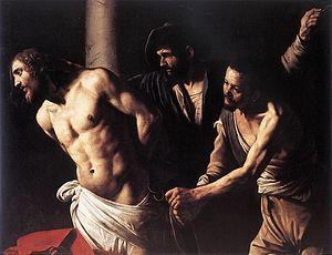 Christ at the Column (Caravaggio) - Image: Caravaggio flagellation