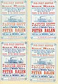 Cards of M. S. Mepham and Bro., St. Louis, advertising sailings of the steamboats Fannie Scott and Peter Balen, leaving St. Louis for Fort Benton and the gold mines, March 25-April 1, 1869.jpg
