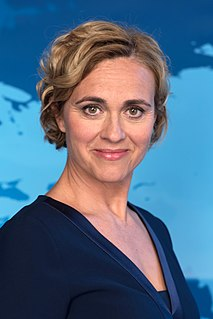 Caren Miosga German broadcast news analyst