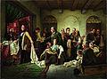 Carl Wilhelm Hübner - The Silesian Weavers - Google Art Project.jpg