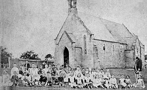 Carlingford, New South Wales - St Paul's Church of England School c.1850-1870