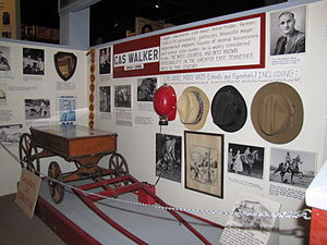 Cas Walker - Cas Walker display at the Museum of Appalachia