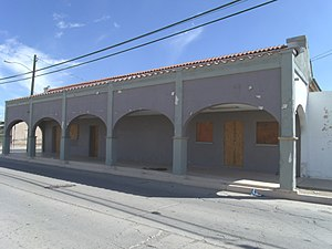 Casa Grande, Arizona - The historic Southern Pacific Railroad Depot was built in 1925 and is located at 201 W. Main St.