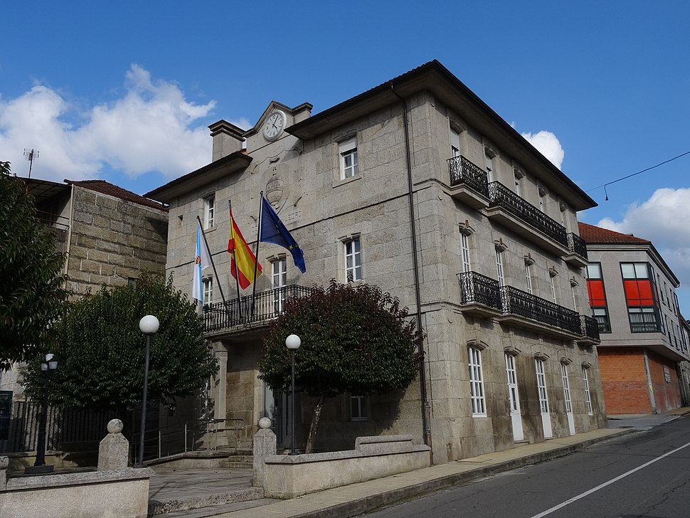 Casa concello Leiro