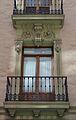 Casa de les Bruixes d'Alacant, balcó.JPG