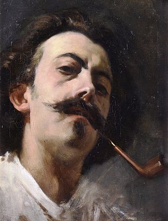 Lorenzo Casanova - Self-portrait (1866)