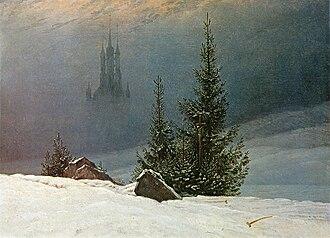 Museum für Kunst und Kulturgeschichte - Caspar David Friedrich: Winterlandschaft (1811).