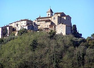 Capannori - Image: Castelvecchio Alto panoramio