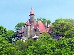 National Register of Historic Places listings in Putnam County, New York - Image: Castle Rock, Garrison, NY