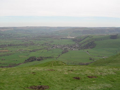 Castleton from Mam Tor