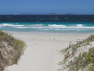 Esperance, Western Australia - Esperance is renowned for its white sandy beaches and aqua coloured waters.
