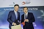 Cathay Pacific inaugural flight to Hong Kong (41024339461).jpg