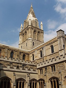 Cathedral, Christ Church, Oxford, from the cloisters. - geograph.org.uk - 187944.jpg