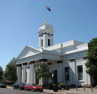 City of Caulfield - Caulfield Town Hall, currently known as Glen Eira Town Hall
