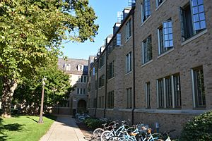 University of Notre Dame residence halls - Cavanaugh Hall