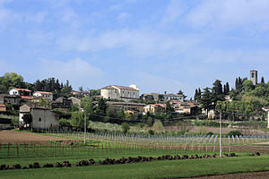 Cavriana - Image: Cavriana panorama