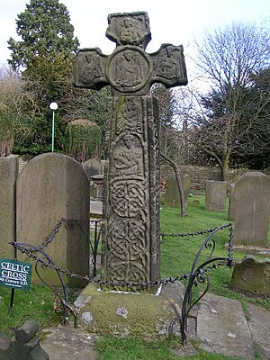 Eyam - The Anglo-Saxon cross