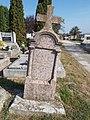 Cemetery, Maria Sommer †1895, 2019 Etyek.jpg