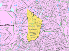 Census Bureau map of Hawthorne, New Jersey.png