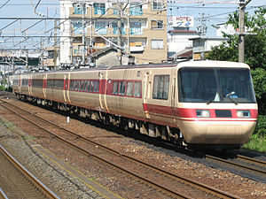381 series - Image: Central Japan Railway Company Type 381 1