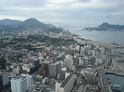 Central Shimonoseki and Kanmon Strait