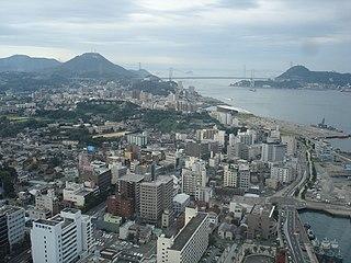 Shimonoseki Core city in Chūgoku, Japan