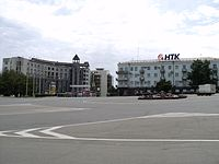 Central Square in Nakhodka.JPG