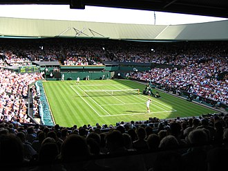 All England Lawn Tennis and Croquet Club - Centre Court, Wimbledon (before the retractable roof was installed)
