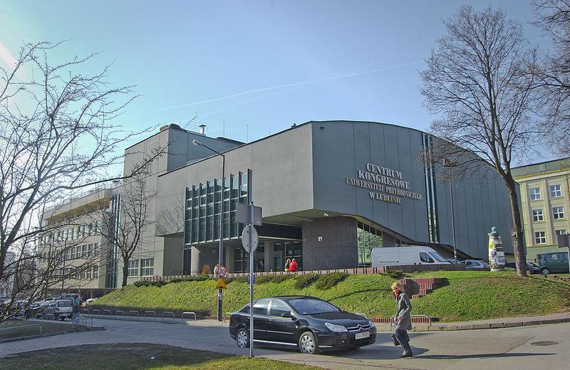 File:Centrum Kongresowe Uniwersytetu Przyrodniczego w Lublinie (24-03-2010).jpg