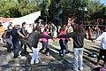Ceremonia conmemorativa 30 años de los Sismos de 1985 Reloj de Sol, Tlatelolco. 17.JPG