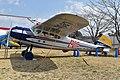 "Cessna 195 'JA3007' ""Asani Shimbun"" (48293314676).jpg"