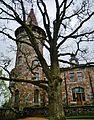 Cesvaine Schloss Turm 1.JPG