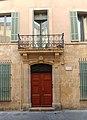 Maison où le peintre Paul Cézanne est mort en 1906 à Aix-en-Provence